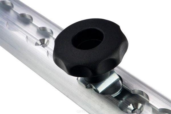 M8 Schraub Fitting mit Sterngriff, 0-10 mm, für Airlineschiene
