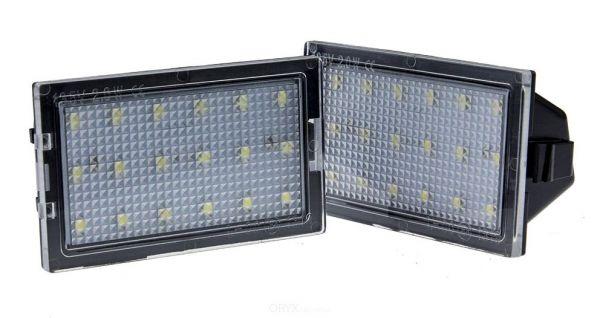 LED Kennzeichenleuchten Set, passend für Discovery 3+4