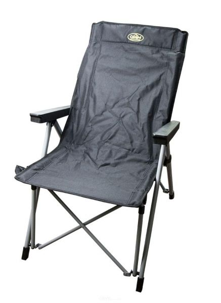 Campingfaltstuhl LA PALMA schwarz