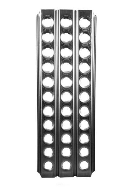 Sandblech, Aluminium, 125 cm