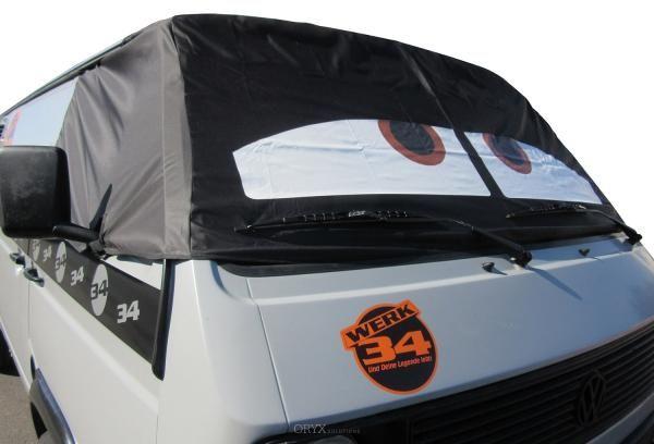 """Fahrerhaus Sonnenschutz """"Sleepy Eyes"""", passend für Bus T3"""