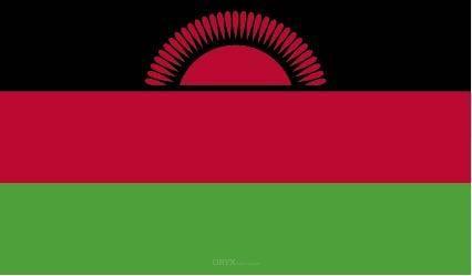 """Aufkleber """"Malawi Flagge"""" 100x60"""