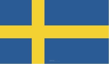 """Aufkleber """"Schweden Flagge"""" 150x90"""