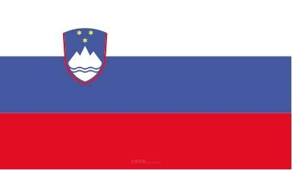"Aufkleber ""Slowenien Flagge"" 100x60"