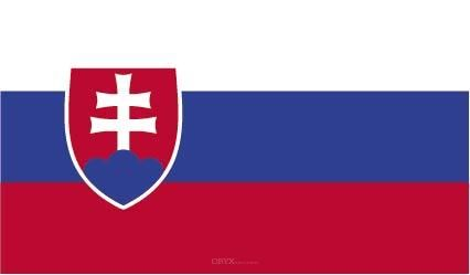 """Aufkleber """"Slowakei Flagge"""" 100x60"""