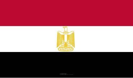 "Aufkleber ""Ägypten Flagge"" 100x60"