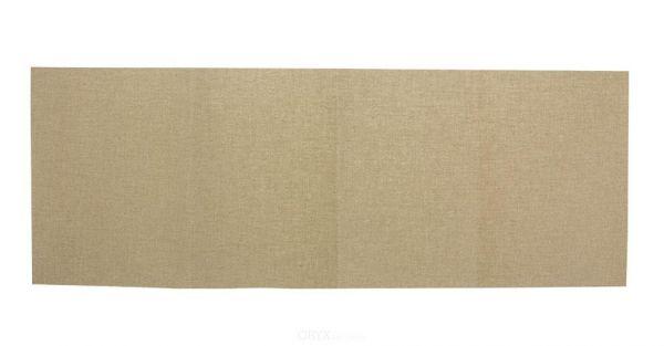 Zeltreparatur Flicken aufbügelbar/wasserdicht, 100% Baumwolle, sand