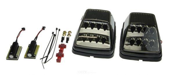 LED Blinker schwarz mit Positionslicht, passend für Mercedes Benz G-Klasse