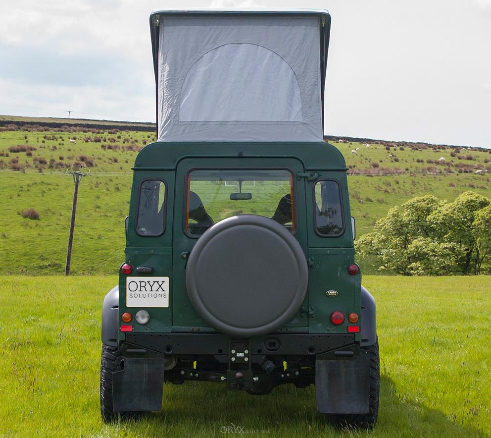 Pop-Top Roof for Sleeping, fits for Land Rover Defender 90
