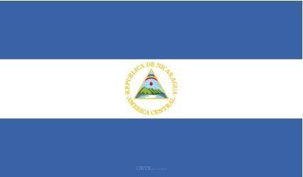 "Aufkleber ""Nicaragua Flagge"" 100x60"