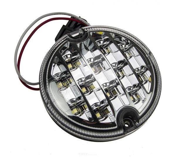 LED Nebelschlußleuchte, klarglas, 95mm, passend für Land Rover Defender