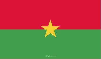 "Aufkleber ""Burkina Faso Flagge"" 150x90"